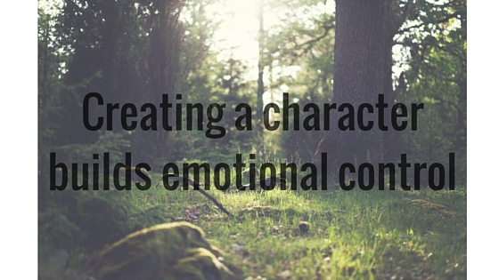 Creating a character builds emotional control