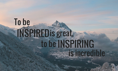 Find your inspiration