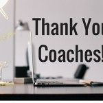 thank you coaches