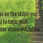 focus on the middle vision